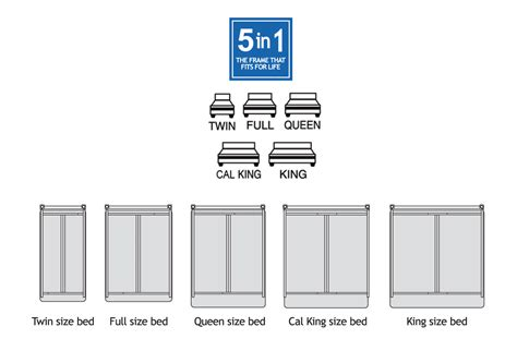 what are the sizes of beds queen activelifestyle mattress and standard boxspring