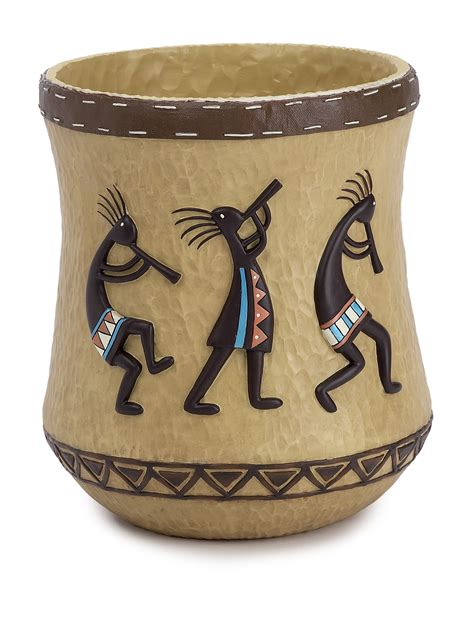 Kokopelli Bathroom Accessories Avanti Kokopelli Bath Collection Wastebasket Stage Stores