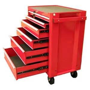 Metal Storage Drawers On Wheels by Excel 6 Drawer Roller Metal Tool Chest
