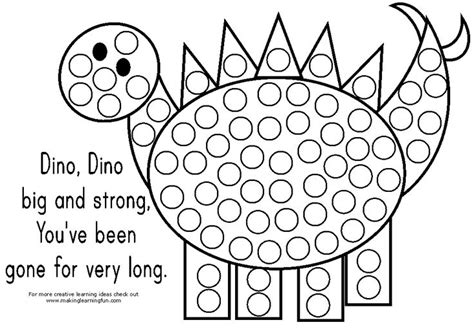 a dot markers paint daubers activity book the sea learn as you play do a dot page a day animals books dinosaur themed bingo dauber stickers coloring page