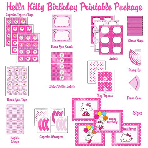 hello kitty printable invitation template free printable hello kitty invitation templates 3