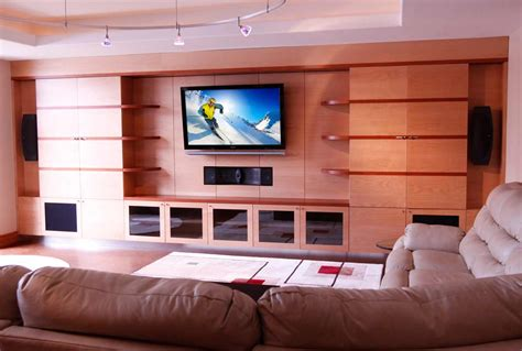 livingroom theaters abt custom theater installations