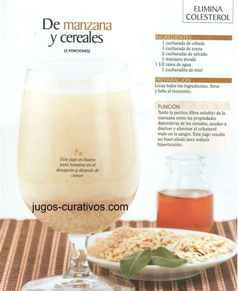 jugos  remedios naturales  bajar el colesterol malo  ldl remedios en  jugos jugos