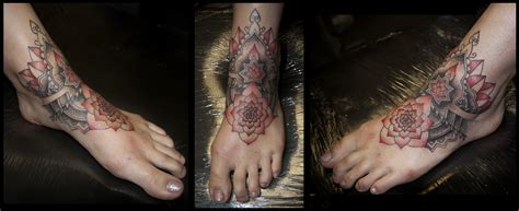 tattooed feet foot tippingtattoo