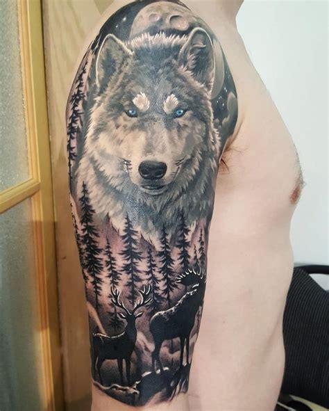 wildlife tattoo wildlife tattoos sleeve www pixshark images