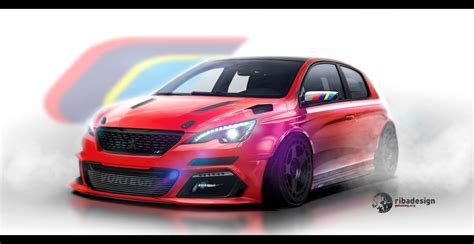 peugeot coupe 308 peugeot 308 coupe concept by ribadesign on deviantart