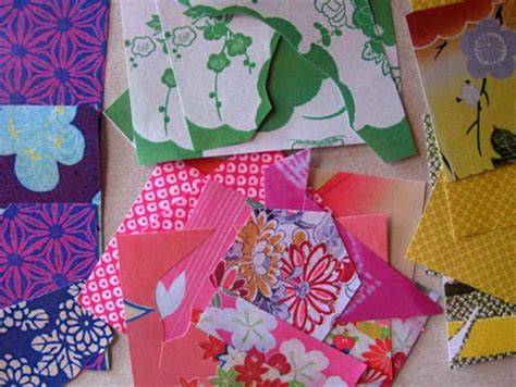 Paper Craft Japan - kimono paper craft gift wrapping patterson