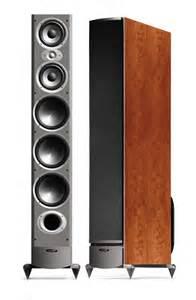 polk audio rti12 cherry floorstanding loudspeakers new