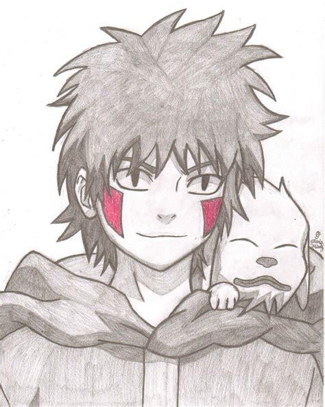 Drawing X by Kiba Inuzuka And Akamaru By Animeportraits On Deviantart