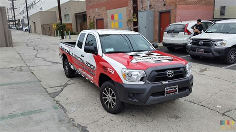 Toyota Scion Truck Toyota Scion Truck Wrap Arete Digital Imaging