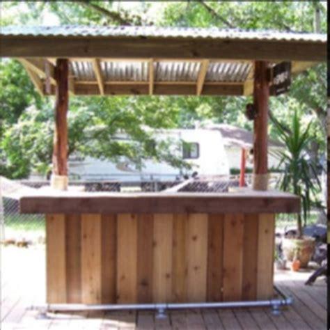 building a backyard bar 25 best ideas about outdoor bars on pinterest patio bar