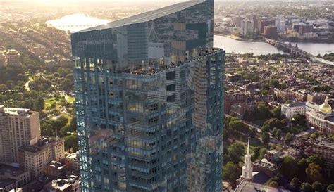 Luxury Open Floor Plans millennium tower boston more images released