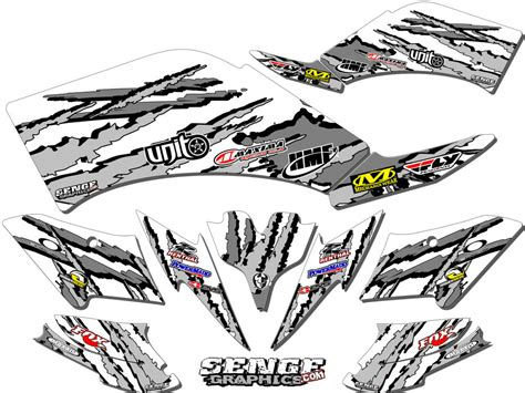Free Atv Stickers By Mail