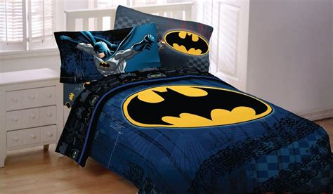New Batman Dc Comic Full Double Size Bed Comforter Sheet Batman Bed Set
