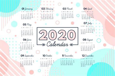 abstract  calendar template  vector