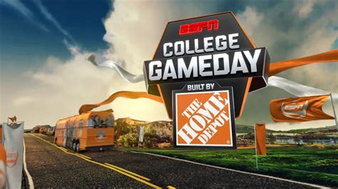 college gameday built by the home depot live