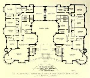 Manor House Floor Plan by Floor Plan Of The Manor House Chicago Floor Plans