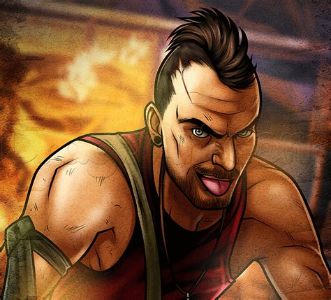 Far Cry 5 Sketches by How To Draw Vaas From Far Cry 3 Step By Step