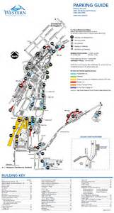 Western Washington University Map by Parking Services Visitor Information