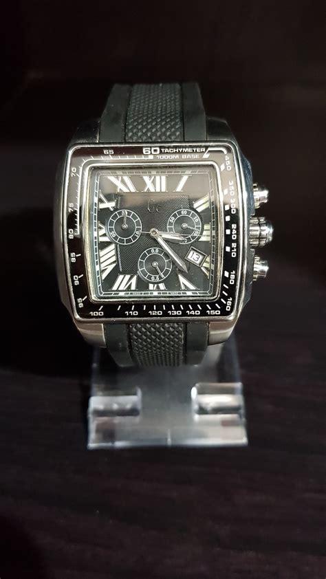 jual jam tangan pria gc guess collection ga original