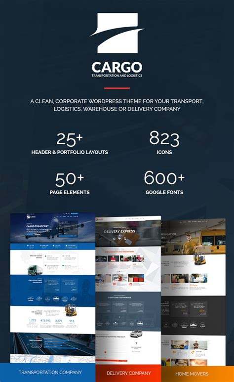 cargo transport logistics warehouse theme business