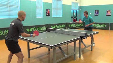 how to play table tennis how to play table tennis scoring a match