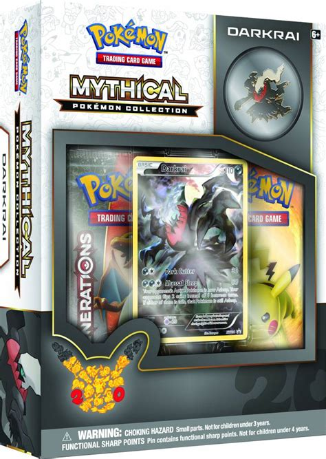 Tcg Darkrai Mythical Box darkrai is featured in this month s tcg mythical collection pok 233 mon