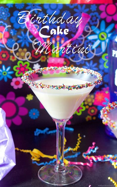 birthday martini 1000 ideas about birthday cake martini on