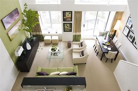 Green And White Living Room by Garden Inspired Living Room Ideas