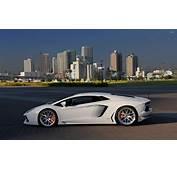 White Lamborghini Aventador Side View Wallpaper  Car