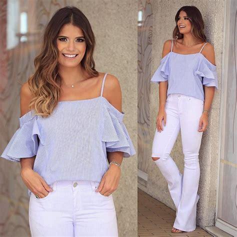 Imagenes De Uñas Q Estan Ala Moda   best 25 blusas cesinas de moda ideas on pinterest