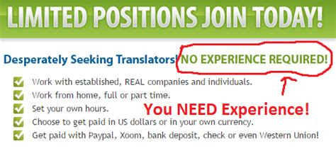 What Type Of Work Experience Is Required For Mba by Real Translator Is A Scam My Quest