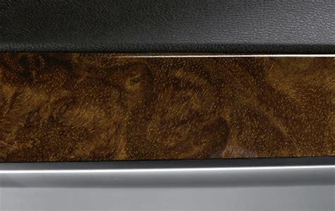 bmw genuine interior door trim strip front right walnut