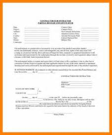 Vendor Release Letter 10 Contractor Lien Waiver Form Attendance Sheet