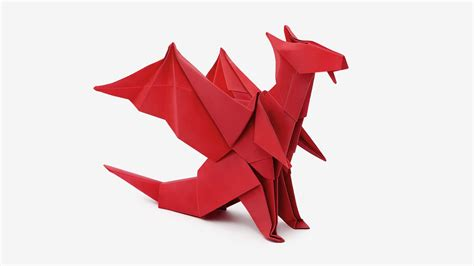 How To Make Origami Dragons - origami jo nakashima 6