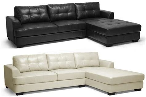 soft leather sectional sofa new cream or black modern super soft leather sectional