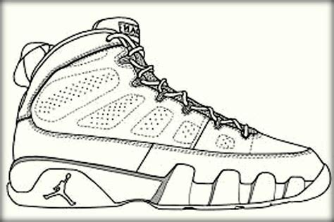 coloring pictures of basketball shoes basketball jordan shoe coloring pages now color own shoe