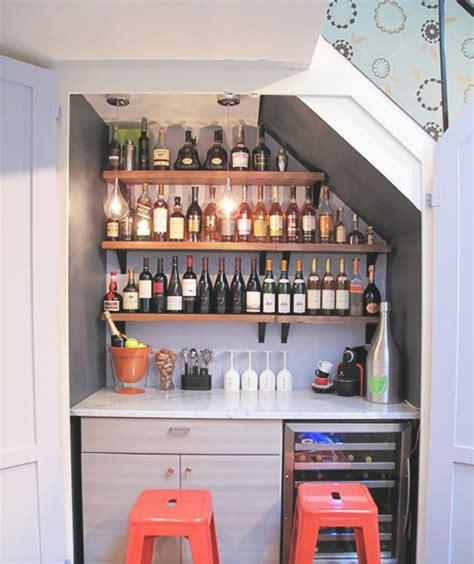 Délicieux Meuble De Rangement Pour Petite Cuisine #6: Meuble-escalier-conforama-etagere-sous-escalier-amenagement-escalier-bar.jpg