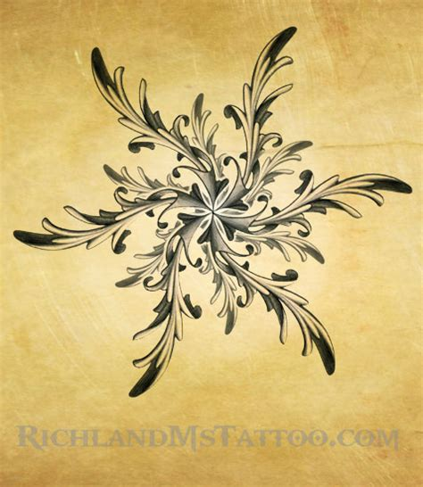 ornate star tattoo design by justin by jacksonmstattoo on
