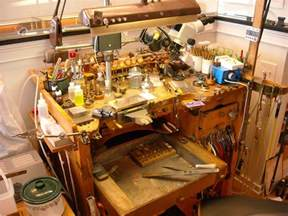 Used Woodworking Bench Goldsmith Silversmith Amp Jewelry Tools Old And New