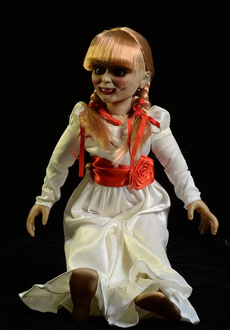 annabelle doll price review and photos of annabelle scaled prop replica doll by