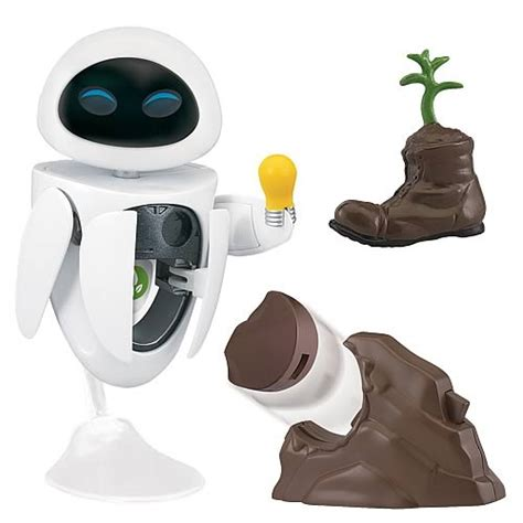 E Search Wall E Search And Protect Deluxe Figure Thinkway Toys Wall E