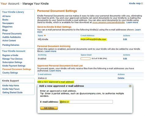 email alumni ui pos 237 lan 237 knih na kindle přes email