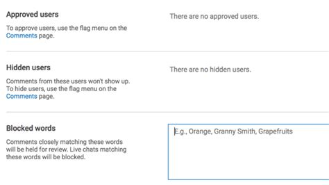 block youtube channels videos and comments with video how to better moderate your youtube comments social
