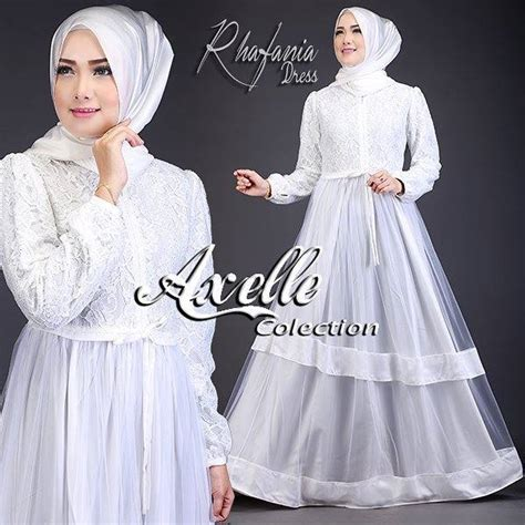 Rhafania Dress supplier baju muslim terbaru