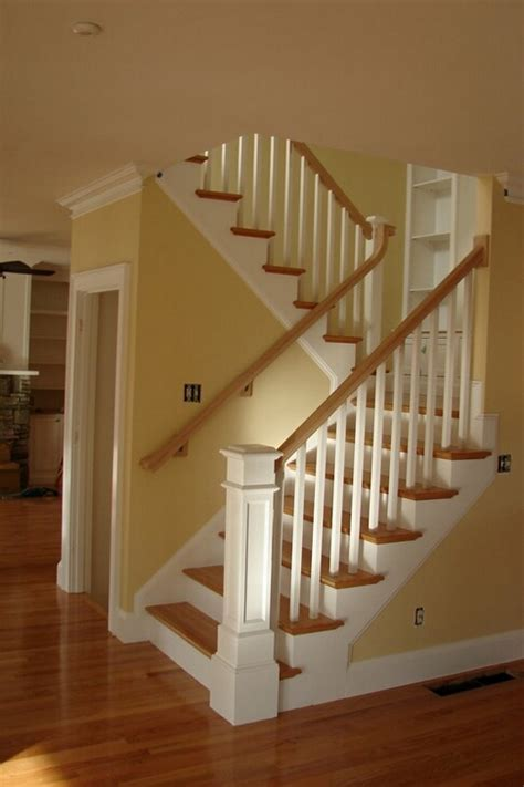 traditional staircases traditional cape style stairs lighthouse newel post and