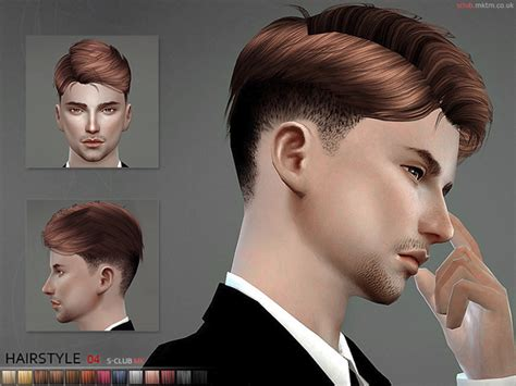 sims 4 male hairstyles sims 4 hairs the sims resource mk hair n4 by s club