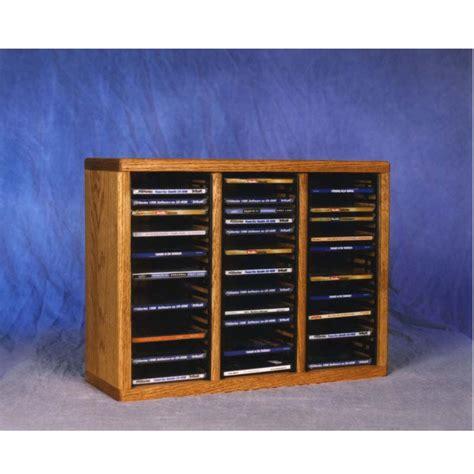 Solid Wood Cd Rack by Wood Shed Solid Oak Cd Rack Tws 309 1