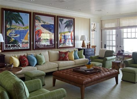 vintage posters to decorate modern interiors - Posters For Living Room