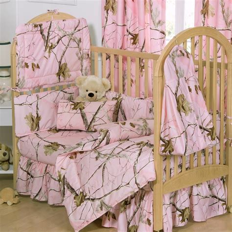 Realtree Crib Bedding Pink Realtree Crib Bedding